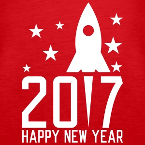 Happy New Year 2017 Tops - Women's Premium Tank Top