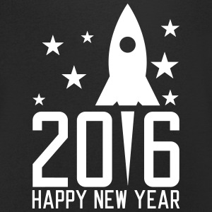 Happy New Year 2016 Tee shirts - T-shirt Homme col V