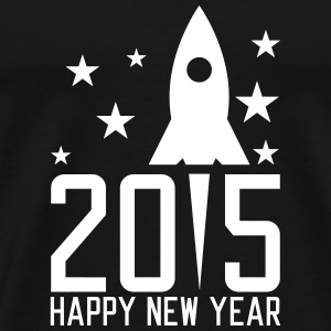Happy New Year 2015 T-shirts - Herre premium T-shirt