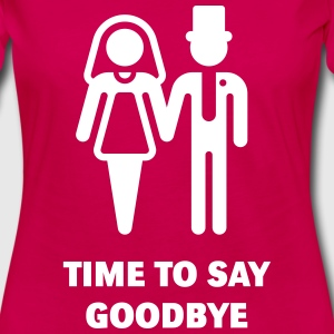 Time To Say Goodbye (Stag Party / Hen Night) Manches longues - T-shirt manches longues Premium Femme