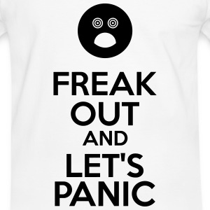 Freak Out And Let's Panic T-Shirts - Men's Ringer Shirt
