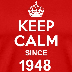 Keep Calm Since 1948 T-shirts - Mannen Premium T-shirt