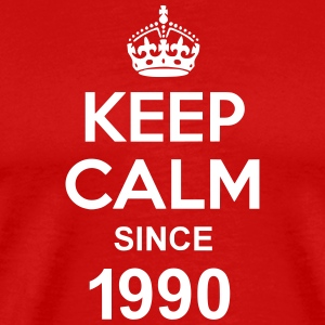 Keep Calm Since 1990 T-shirts - Premium-T-shirt herr