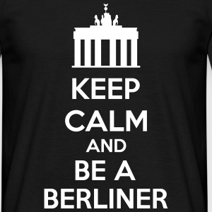 Keep Calm And Be A Berliner T-skjorter - T-skjorte for menn