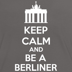 Keep Calm And Be A Berliner Camisetas - Camiseta contraste mujer