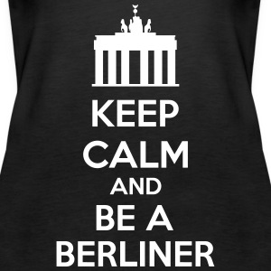 Keep Calm And Be A Berliner Topy - Tank top damski Premium