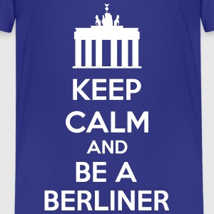 Keep Calm And Be A Berliner Tee shirts - T-shirt Premium Enfant