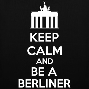 Keep Calm And Be A Berliner Sacs et sacs à dos - Tote Bag