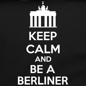 Keep Calm And Be A Berliner Tasker & rygsække - Skuldertaske