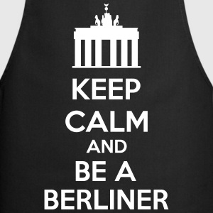 Keep Calm And Be A Berliner Fartuchy - Fartuch kuchenny