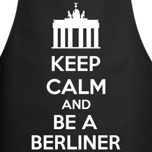 Keep Calm And Be A Berliner Delantales - Delantal de cocina