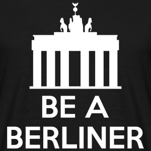 Be A Berliner T-shirts - Herre-T-shirt