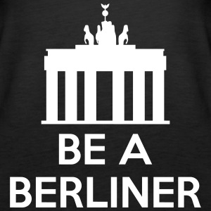 Be A Berliner Topy - Tank top damski Premium