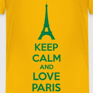 Keep Calm And Love Paris Shirts - Kinderen Premium T-shirt