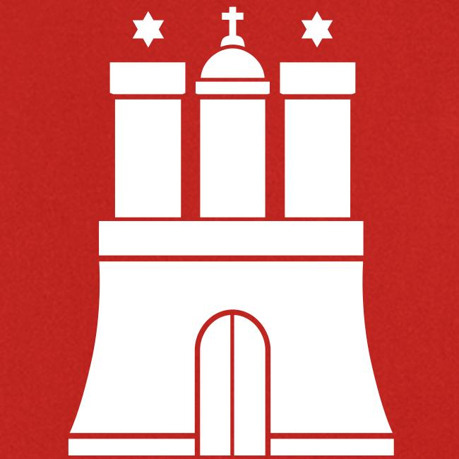 Hamburger Wappen Kochschürze