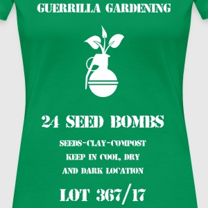 Seed bombs - Women's Premium T-Shirt