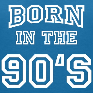 Born in the 90's T-shirts - T-shirt med v-ringning dam