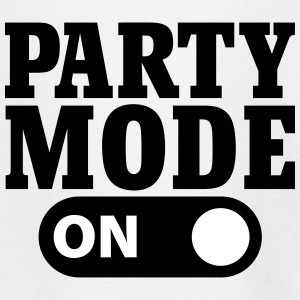 Party Mode on T-shirts - T-shirt barn