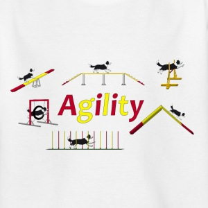 Agility equipment with Titel.png Camisetas - Camiseta adolescente