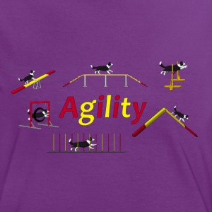 Agility equipment with Titel.png Tee shirts - T-shirt contraste Femme
