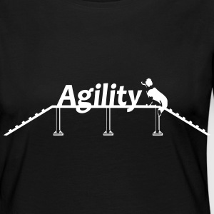 Agility bridge with Schrift.svg Long Sleeve Shirts - Women's Premium Longsleeve Shirt