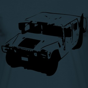 Hummer H1 Jeep US Army - Männer T-Shirt