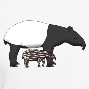 Tapir with baby Magliette - T-shirt ecologica da donna