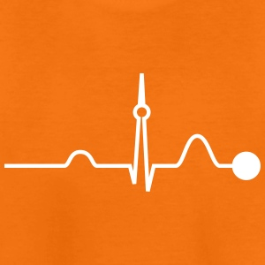 Berlin Heartbeat (Vector) - Teenager Premium T-Shirt