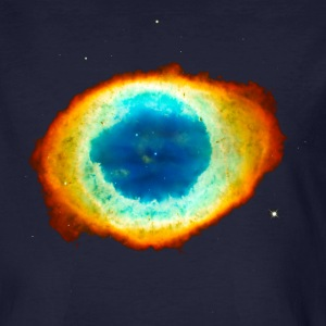 Helix Nebula, Eye of God, Aquarius, Space, Galaxy  T-shirts - Organic mænd