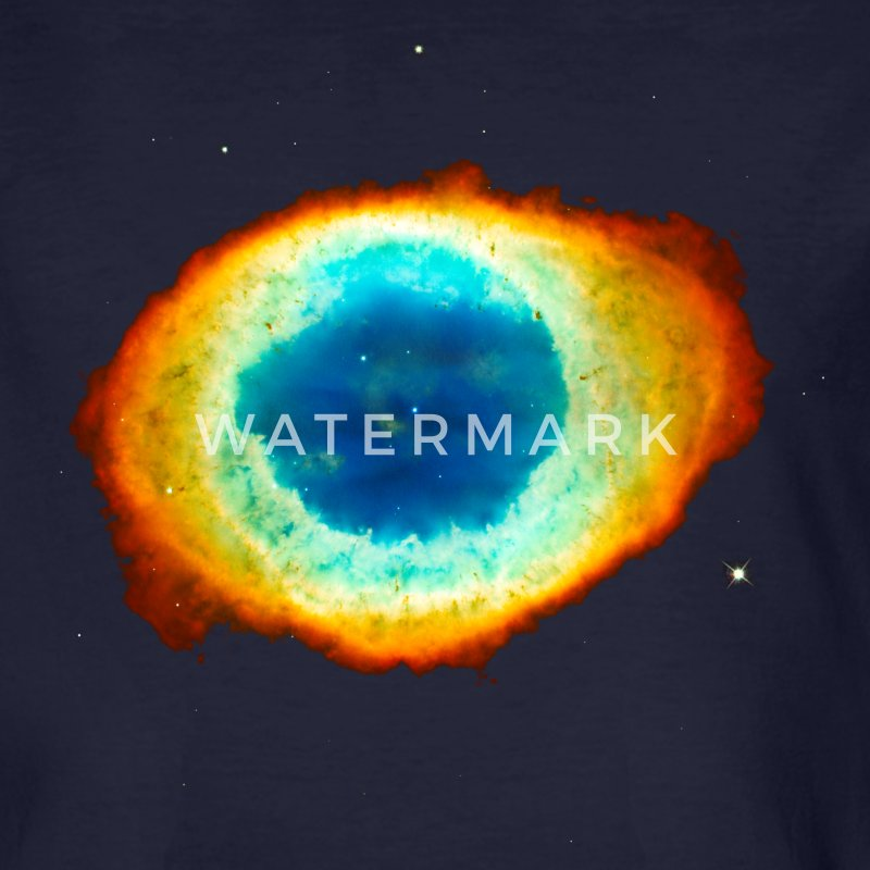 Helix Nebula, Eye of God, Aquarius, Space, Galaxy  T-Shirts - Men's Organic T-shirt