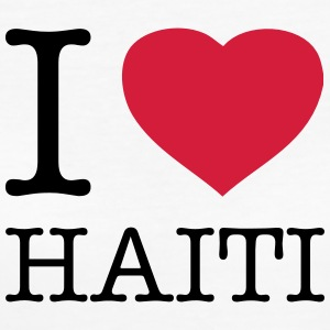 I LOVE HAITI - Frauen Bio-T-Shirt