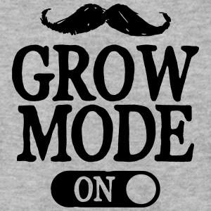 Moustache Grow Mode On Hoodies & Sweatshirts - Men's Sweatshirt