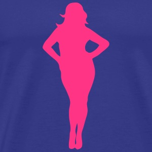 femme ronde forte sexy 29 Tee shirts - T-shirt Premium Homme