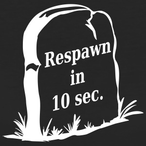 respawn in 10 sec T-Shirts - Frauen Bio-T-Shirt