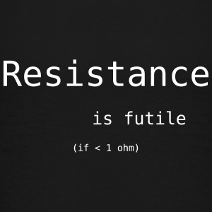 resistance is futile T-Shirts - Teenager Premium T-Shirt