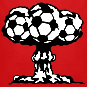 football explosion champignon nucleaire Tee shirts - Tee shirt près du corps Homme