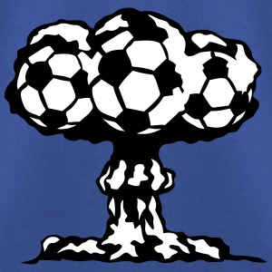 football explosion champignon nucleaire Sweat-shirts - Sweat-shirt Homme