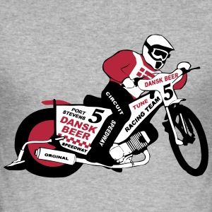 Speedway Team Denmark T-Shirts - Men's Slim Fit T-Shirt