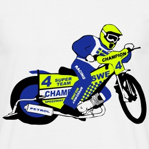 Speedway  Team Sweden T-Shirts - Men's T-Shirt