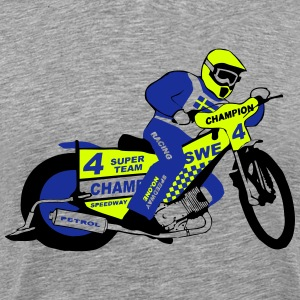 Speedway  Team Sweden T-Shirts - Men's Premium T-Shirt