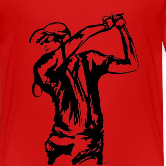 Golf, le swing