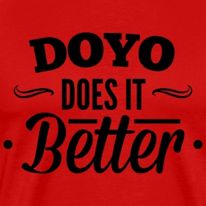 DOYO, Do Yourself does it better, machs dir selbst T-skjorter - Premium T-skjorte for menn