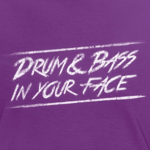 Drum & bass in your face / Party / Rave / Dj T-Shirts - Women's Ringer T-Shirt