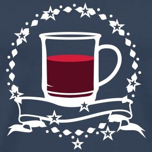 A cup of hot mulled wine T-Shirts - Men's Premium T-Shirt