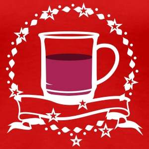 A cup of hot mulled wine T-Shirts - Women's Premium T-Shirt