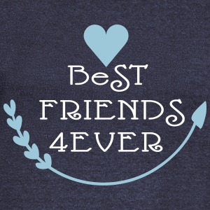 Best friends forever cool say Women's Boat Neck Lo - Women's Boat Neck Long Sleeve Top