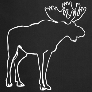 Moose  Aprons - Cooking Apron