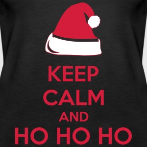 Keep Calm And Ho Ho Ho Tops - Vrouwen Premium tank top