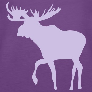 Elch - Moose - Elk Tops - Frauen Premium Tank Top
