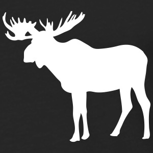 Moose Long sleeve shirts - Men's Premium Longsleeve Shirt